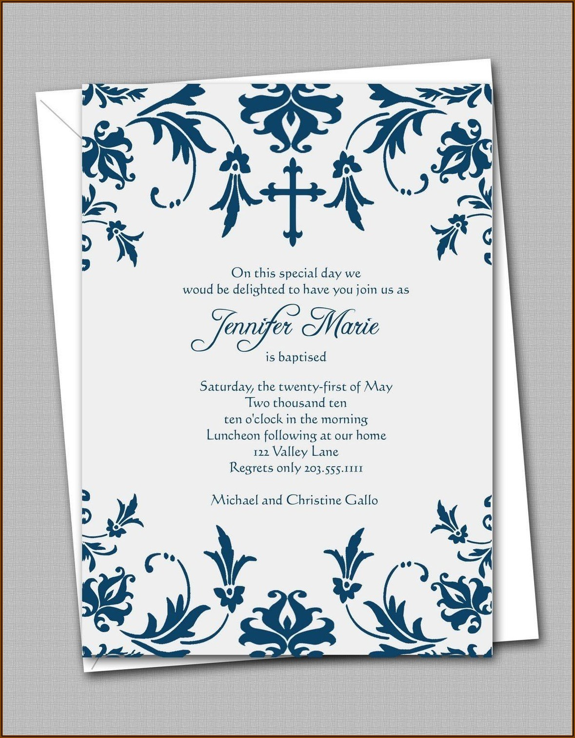 Downloadable Confirmation Invitation Template Free