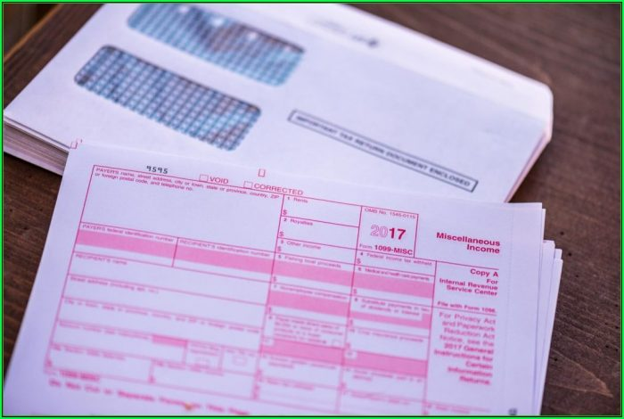 Employer 1099 Form Instructions