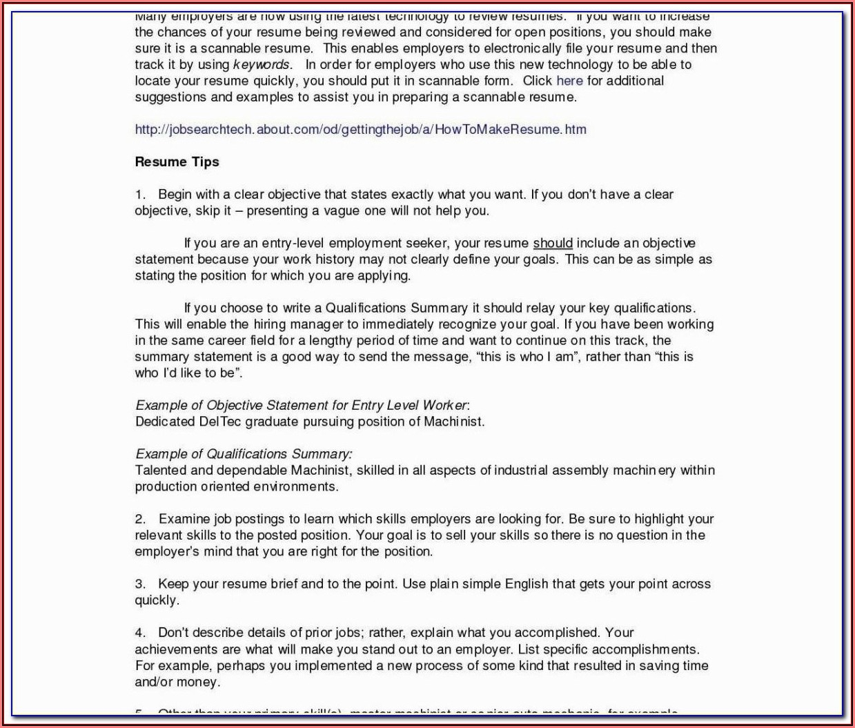 Federal Resume Writing For Veterans