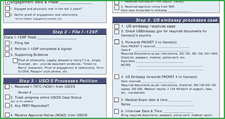 Fiance Visa Form Pdf