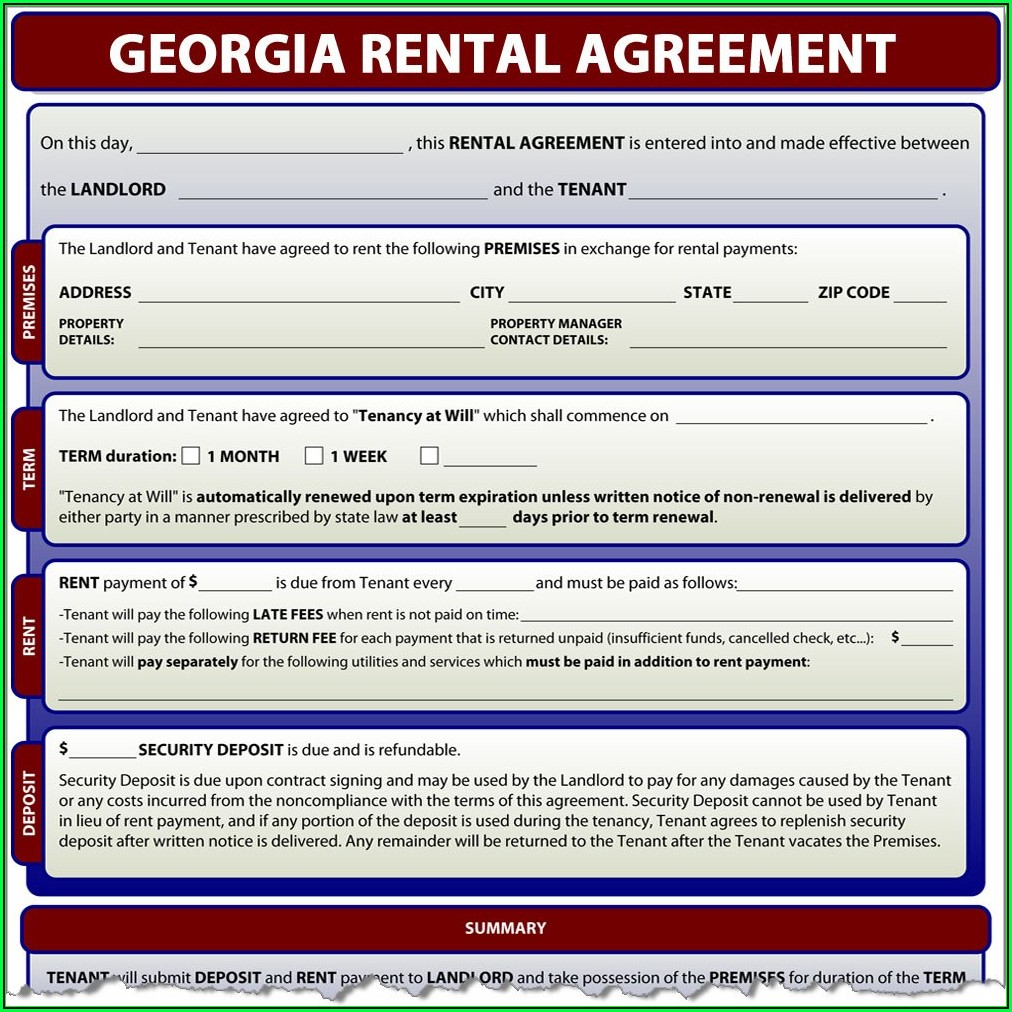 Free Arkansas Lease Agreement Form