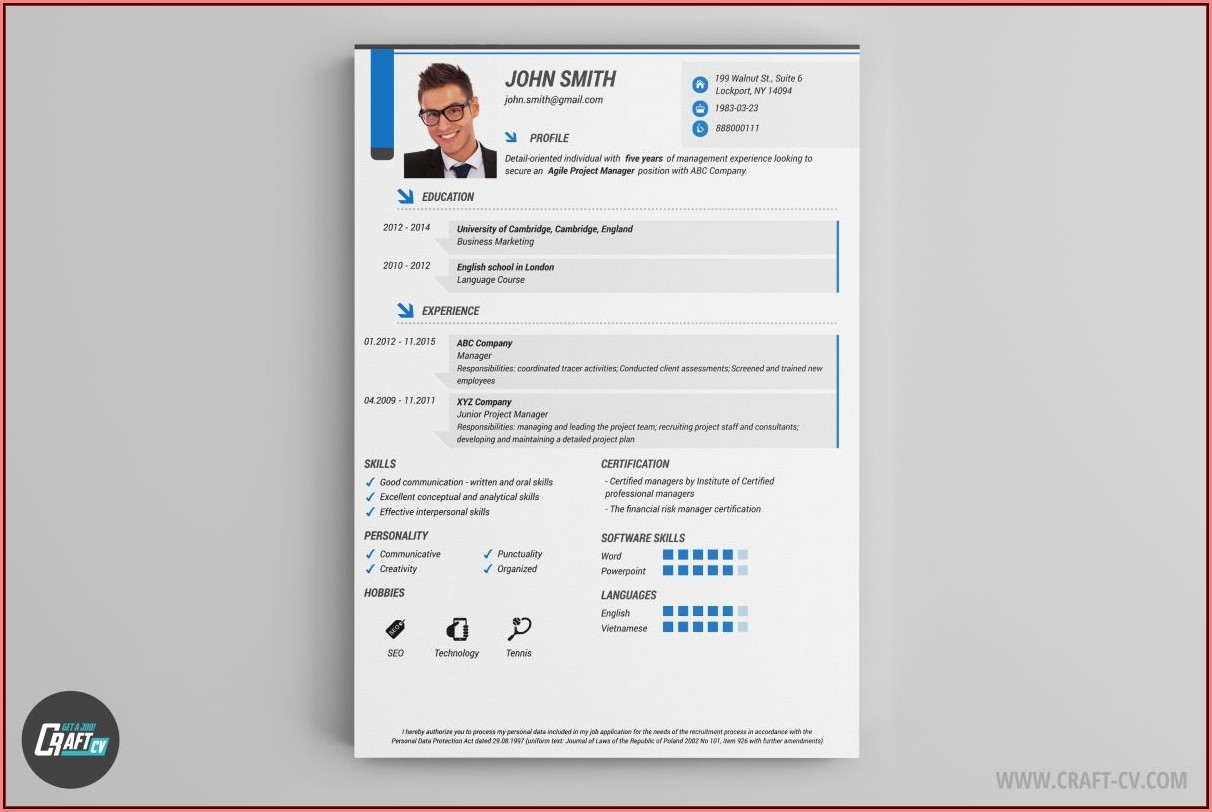 Free Creative Resume Builder