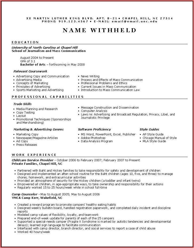 Free Functional Resume Builder