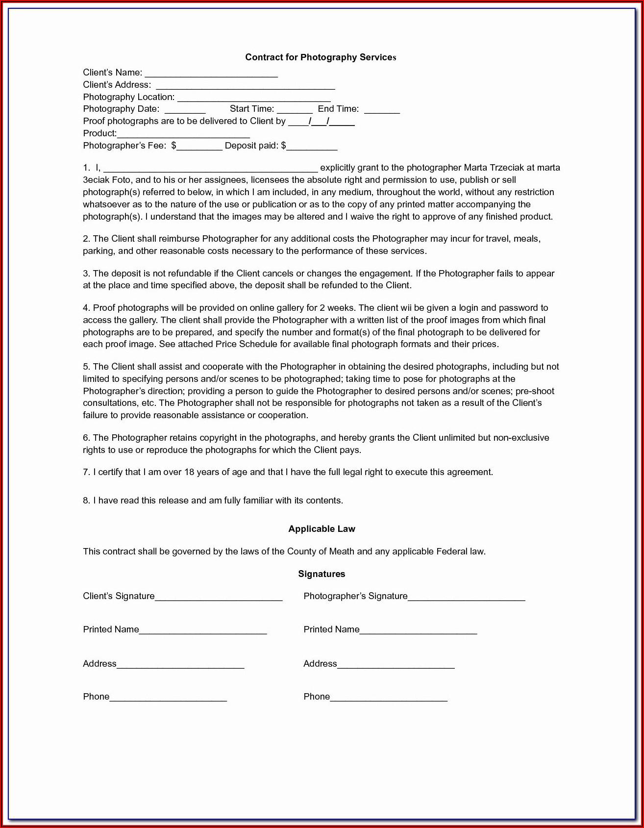 Free Hipaa Business Associate Agreement Template 2018