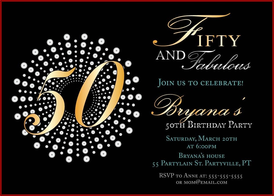 Free Male 40th Birthday Invitation Templates