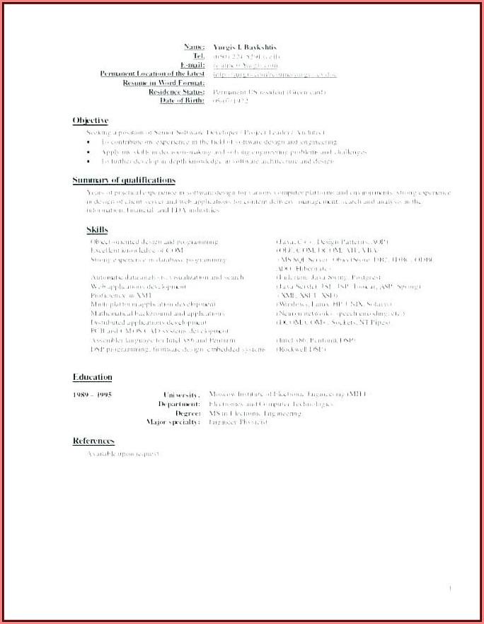 Free Online Resume Builder Reviews