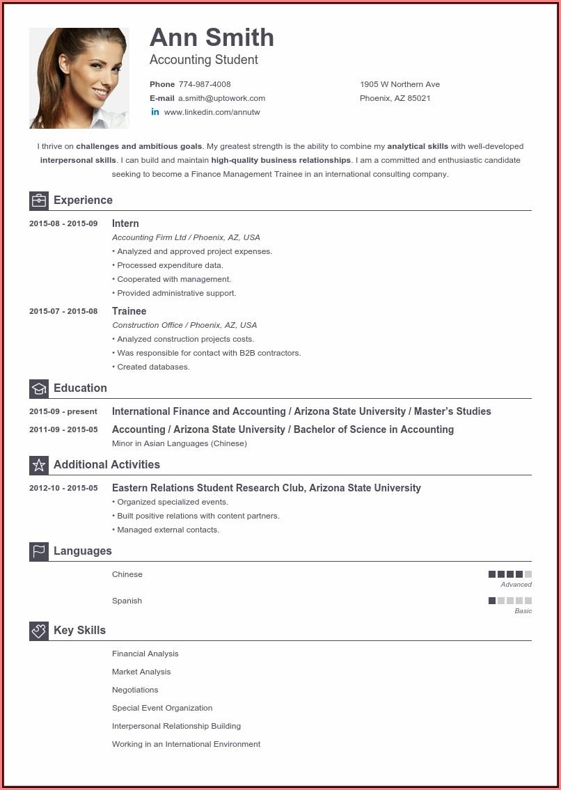 Free Online Resume Download