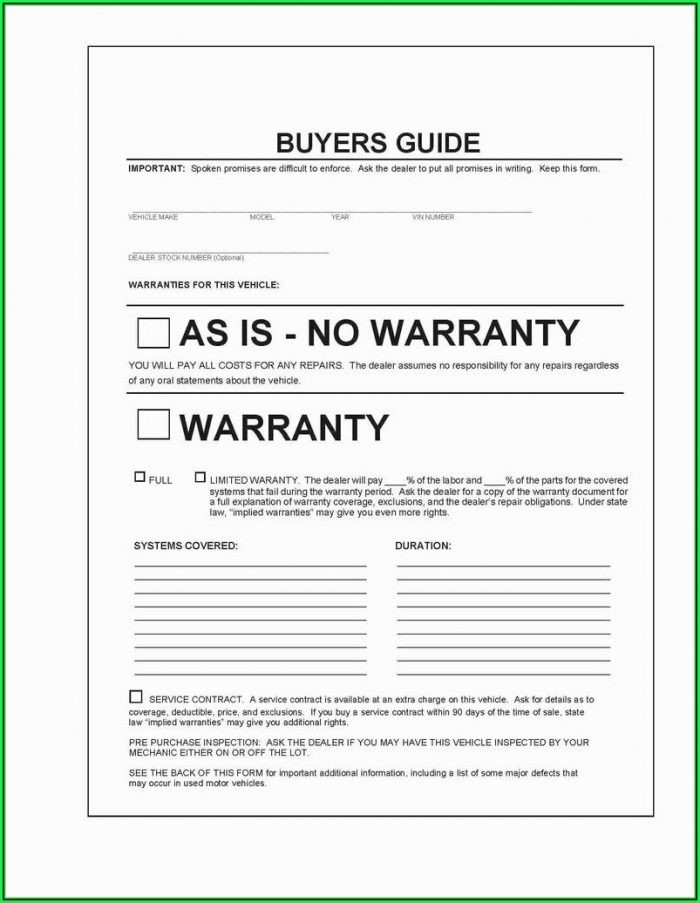 Free Pre And Post Trip Vehicle Inspection Forms