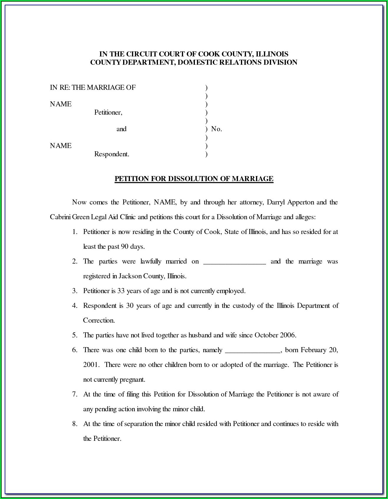 Free South Carolina Legal Separation Forms