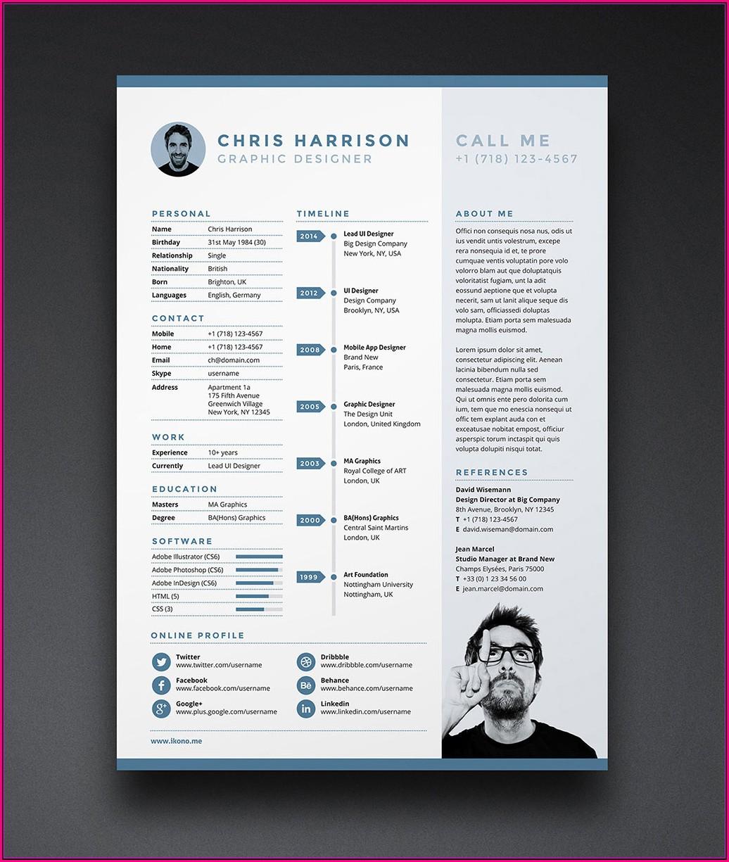 Free Template Resume