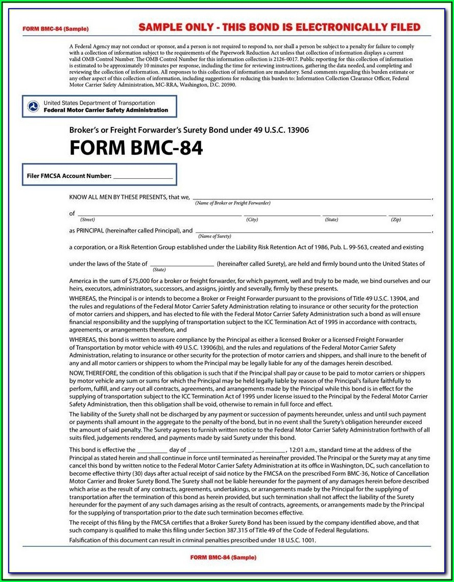 Freight Broker Forms