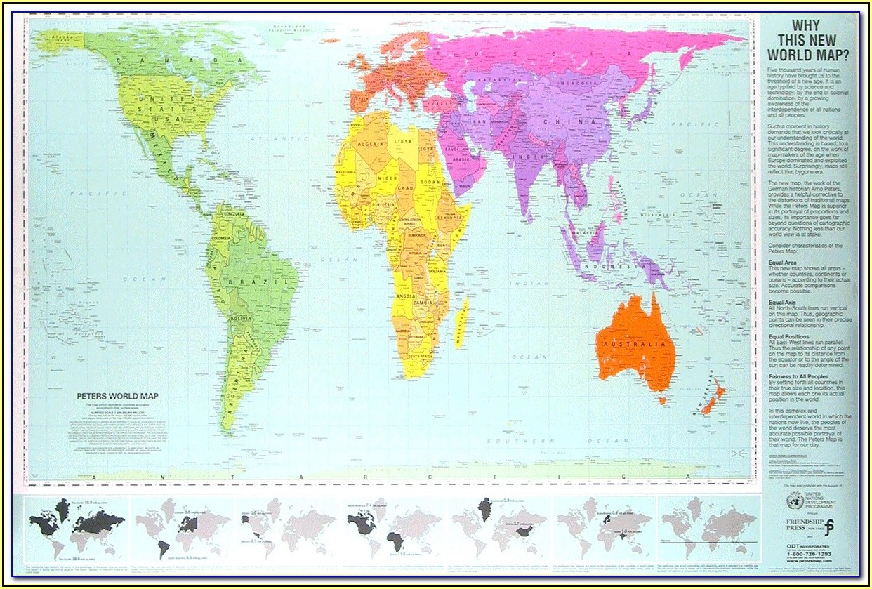 Gall Peters Map Projection Pros And Cons