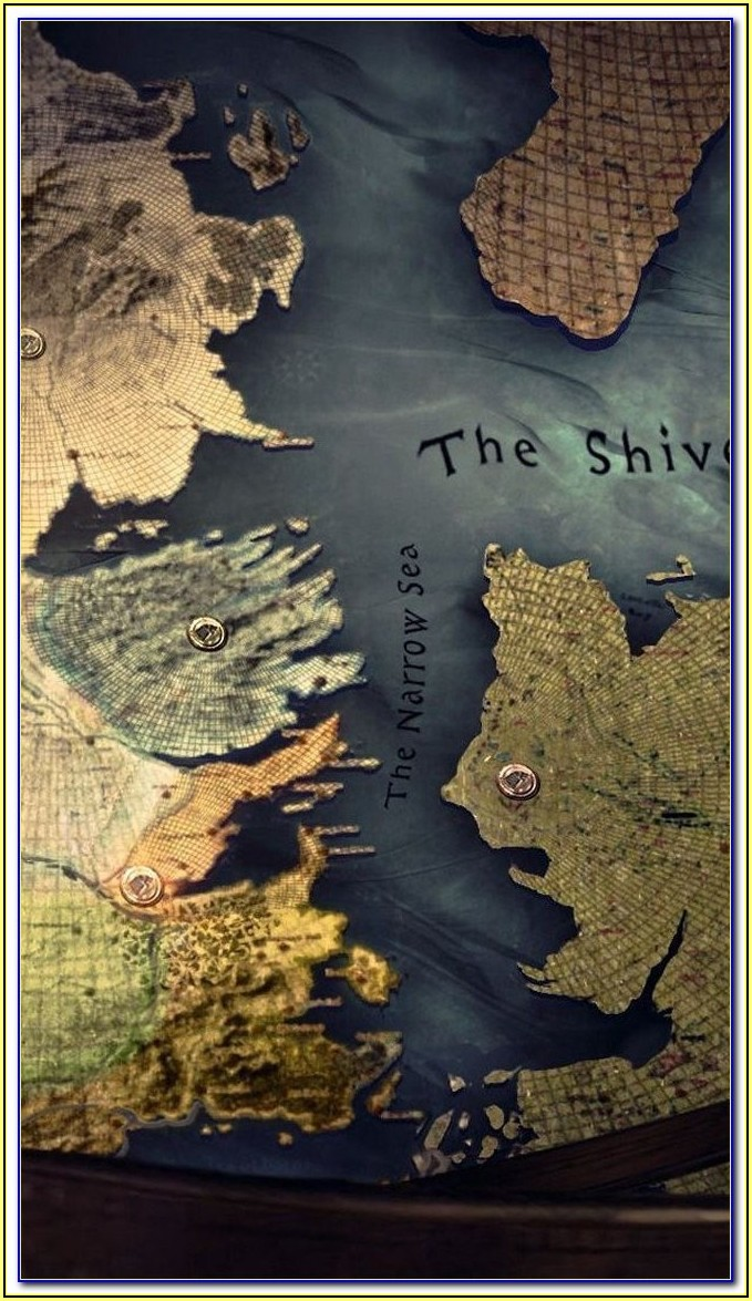 Game Of Thrones Map Wall Mural