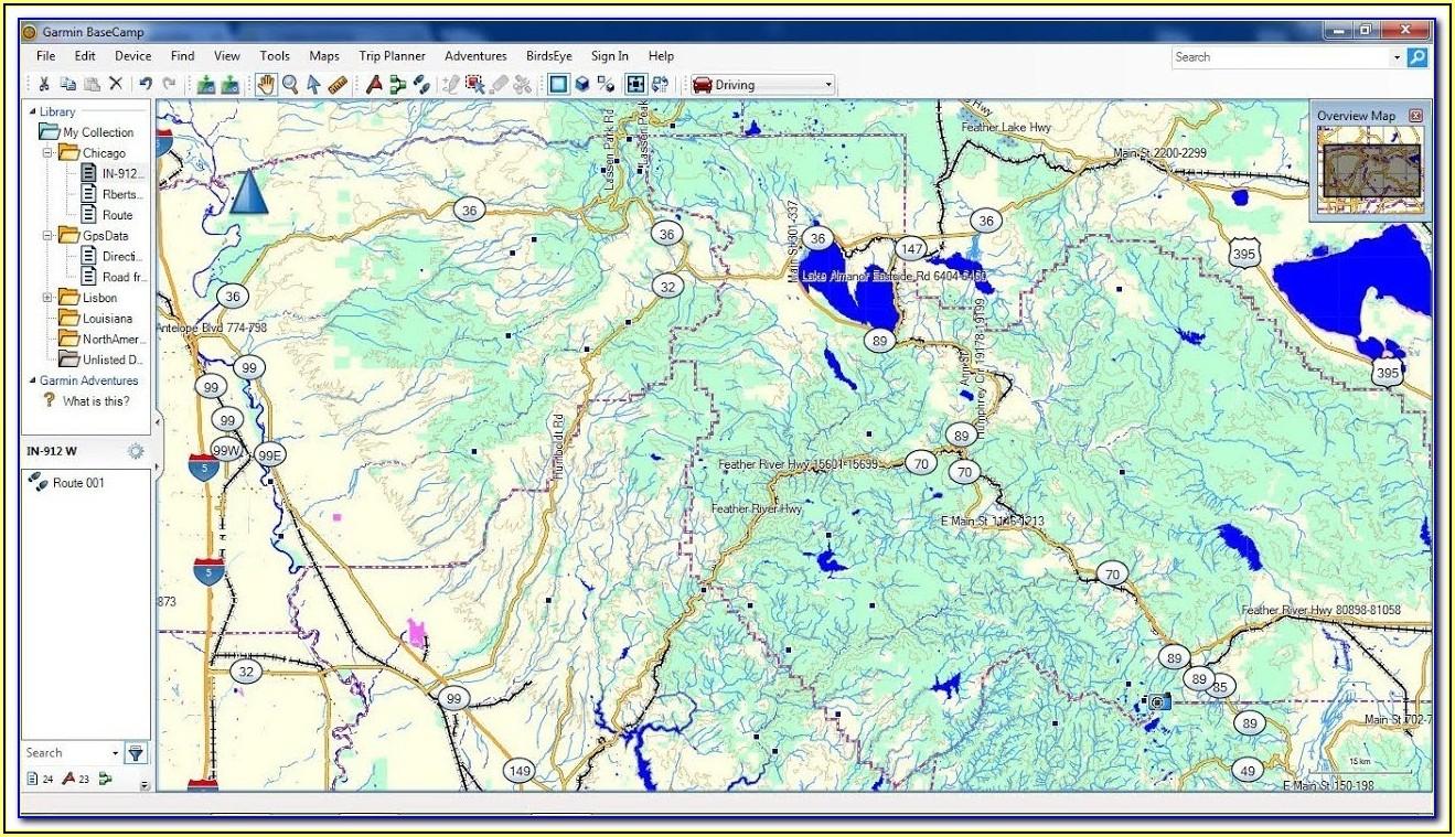 Garmin Gps Us And Canada Maps