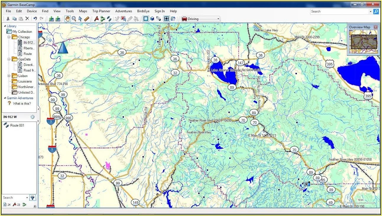 Garmin Hiking Maps Usa