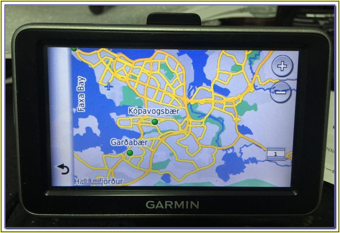 Garmin Iceland Map Free Download