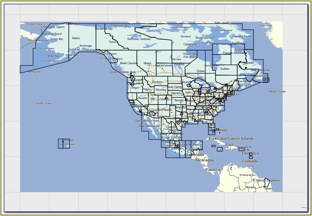 Garmin Nuvi 255w North America Maps