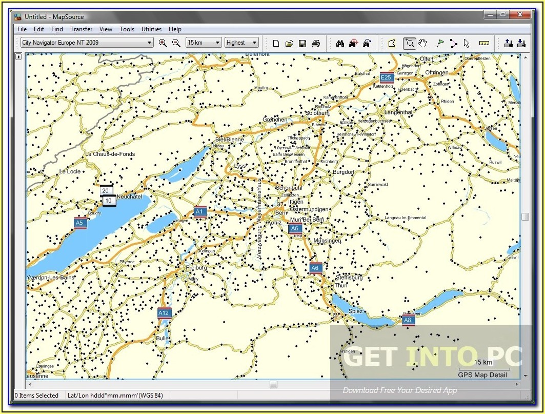 Garmin Nuvi North America Maps