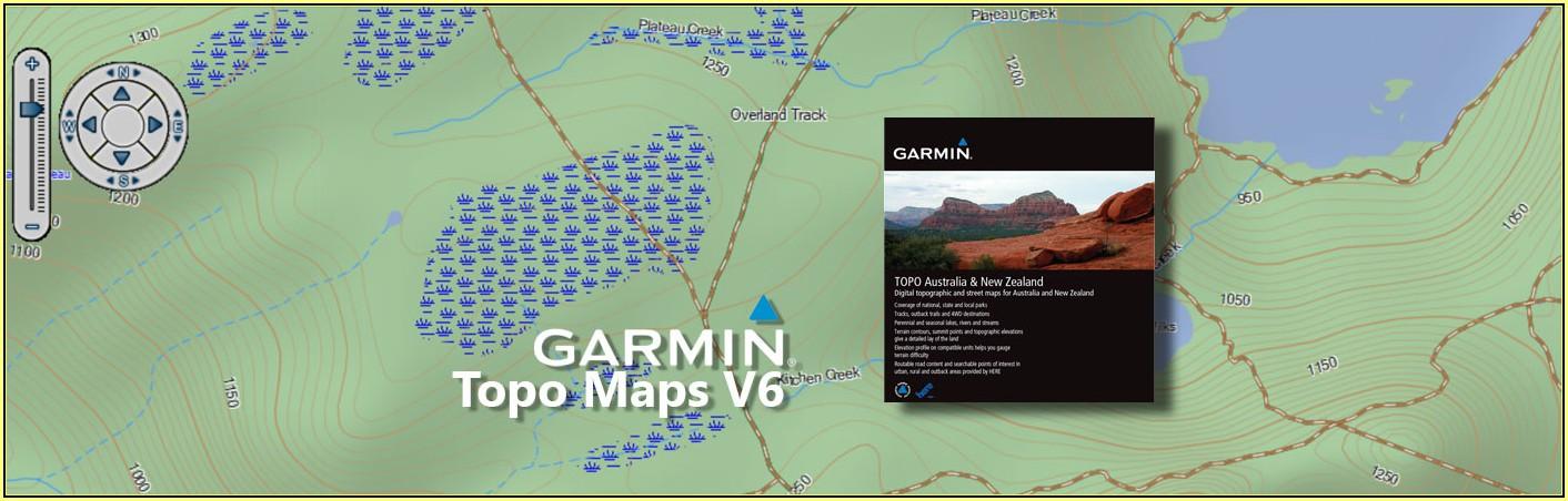 Garmin Topographic Maps Australia