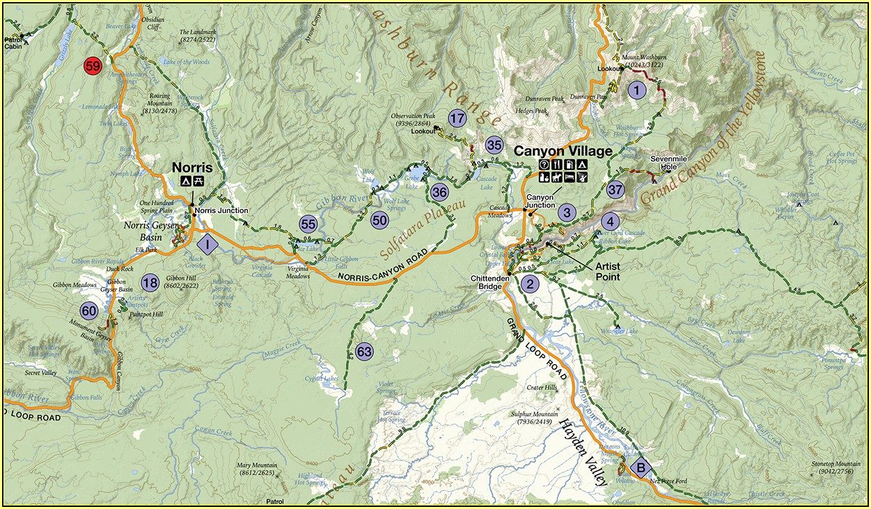 Glacier National Park Gps Trail Maps