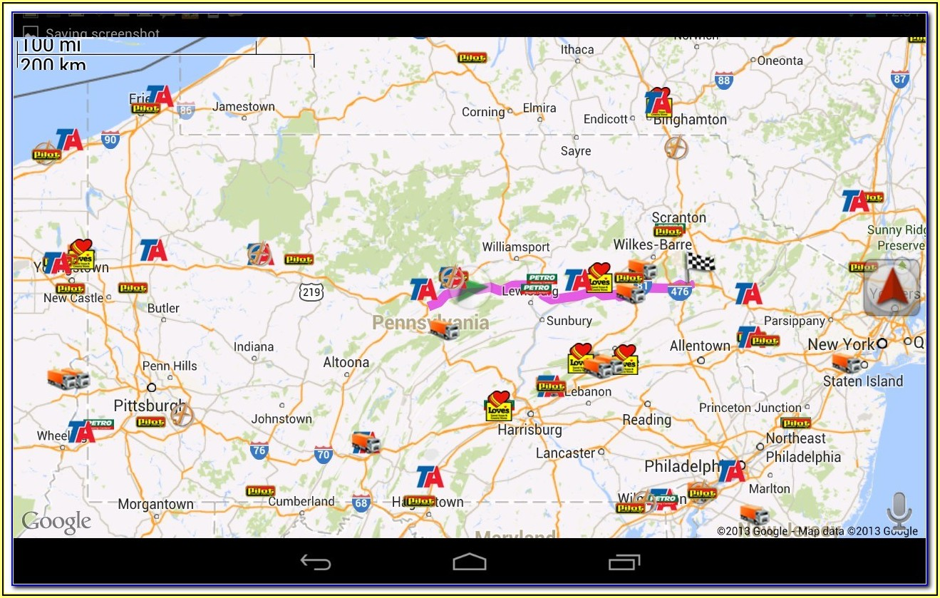 Google Maps App For Truck Drivers
