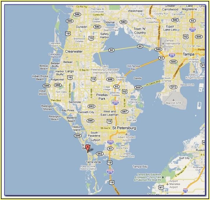 Google Maps Flagler Beach Fl