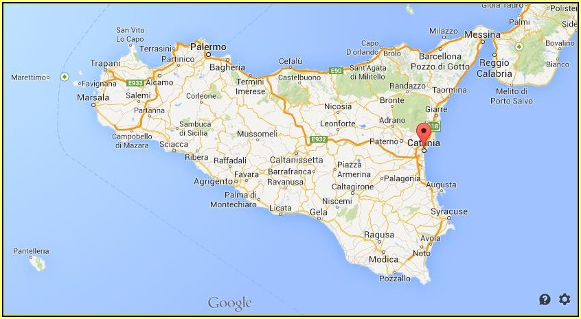 Google Maps Of Sicily