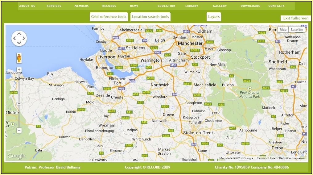 Google Maps Postcode Area Overlay