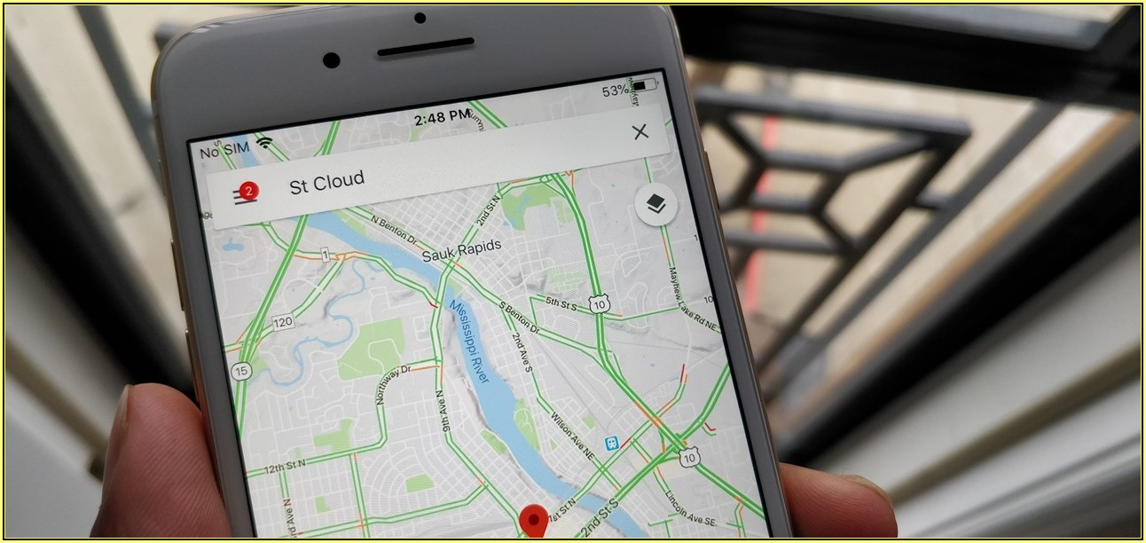 Google Maps Vs Gps Device