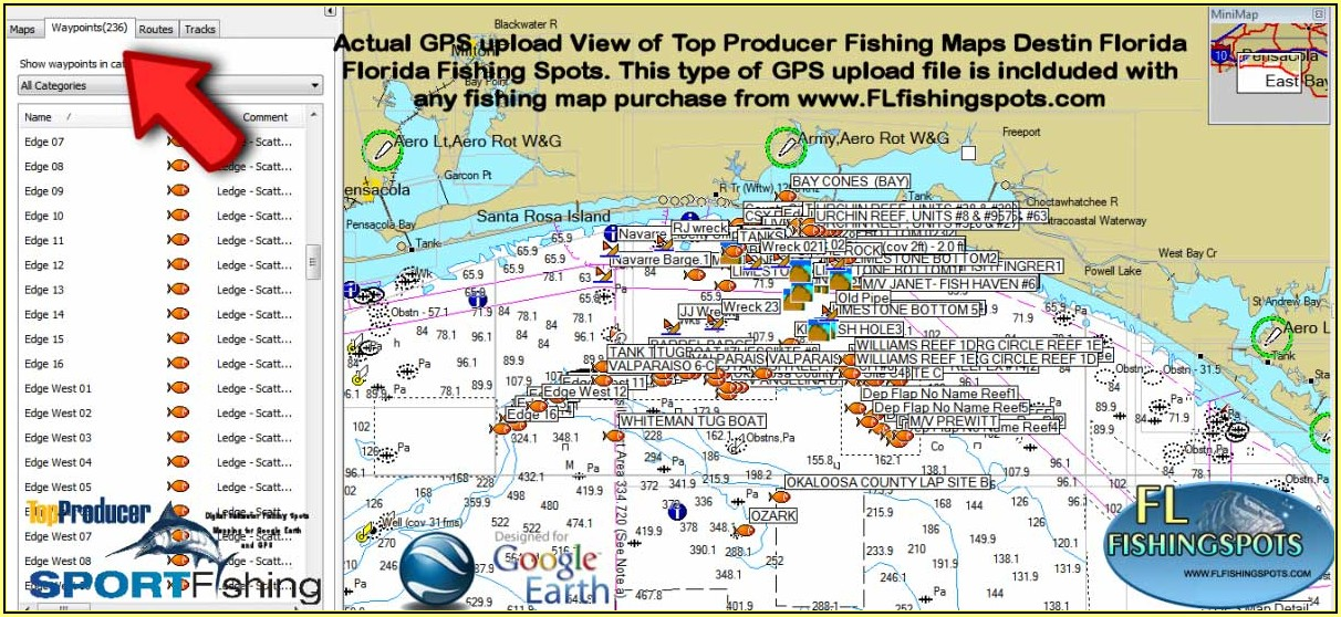 Gps Fishing Maps Free