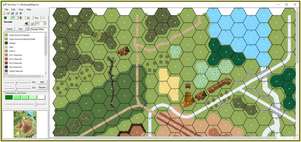 Hex Grid Map App