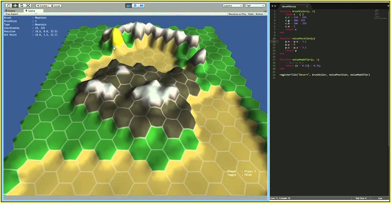 Hex Grid Map Editor