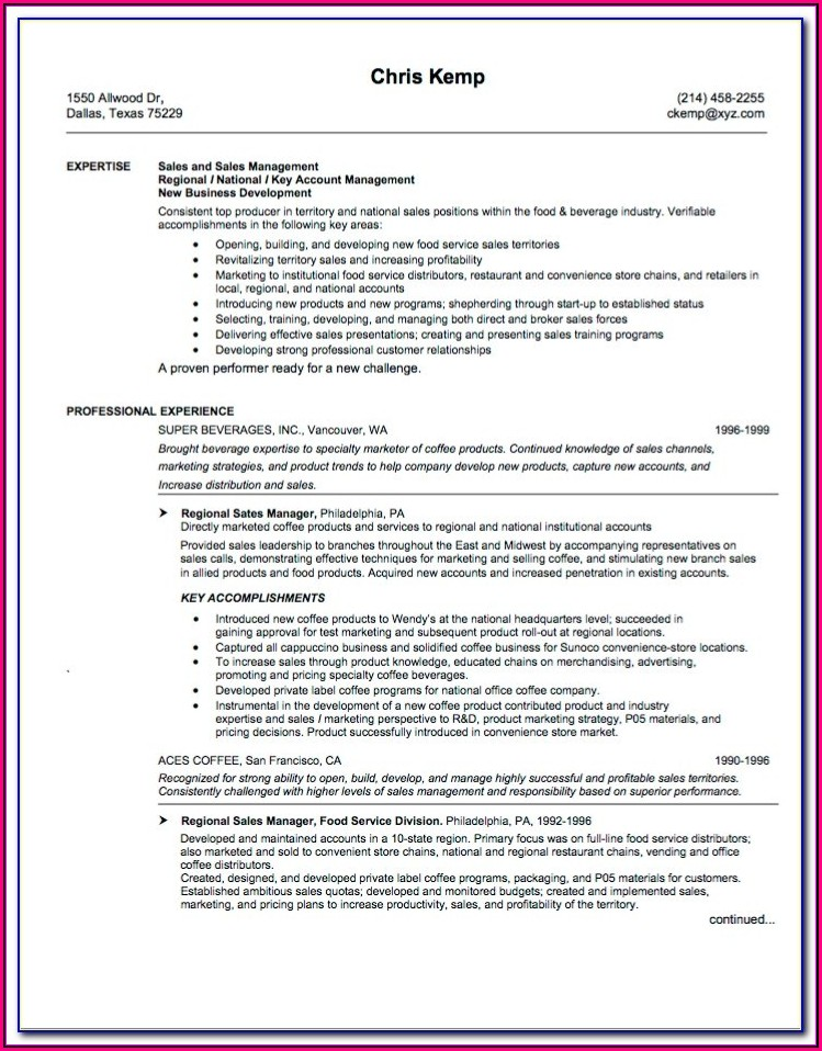 Highly Effective Resume Templates