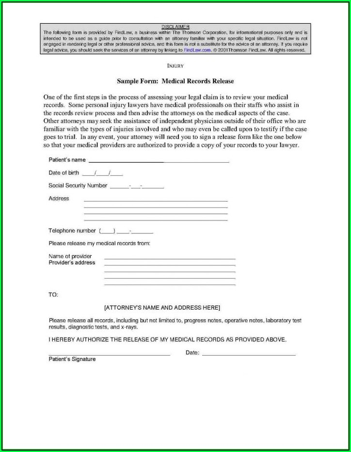 Hipaa Compliant Authorization Form Nj