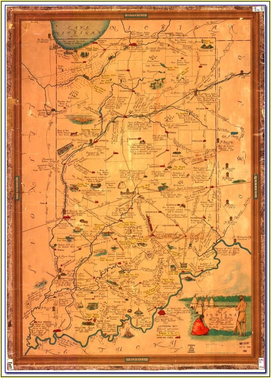 Historic Indiana Maps
