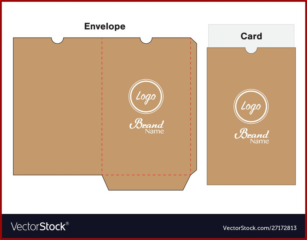 Hotel Key Card Holder Template