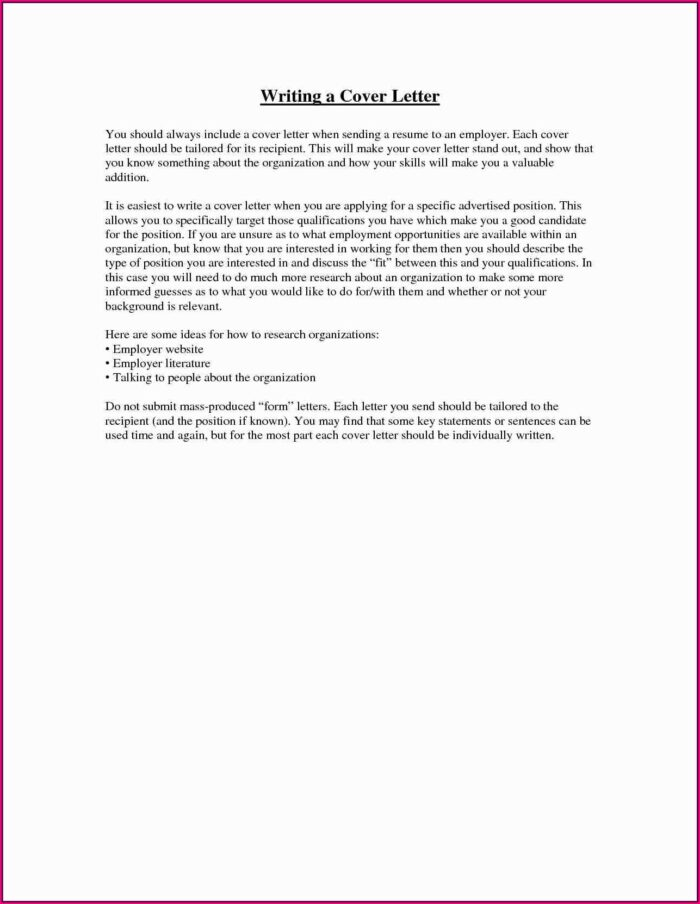 How Do You Make A Resume And Cover Letter