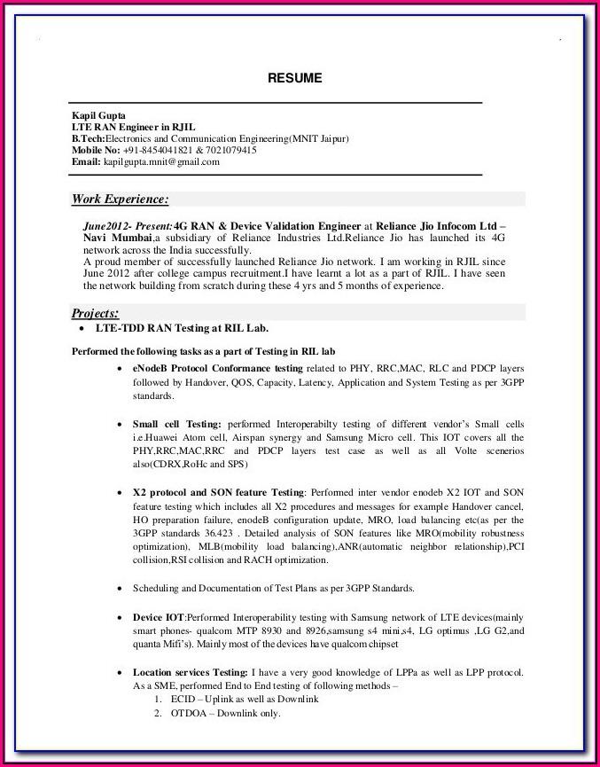 Hvac Installer Resume Examples
