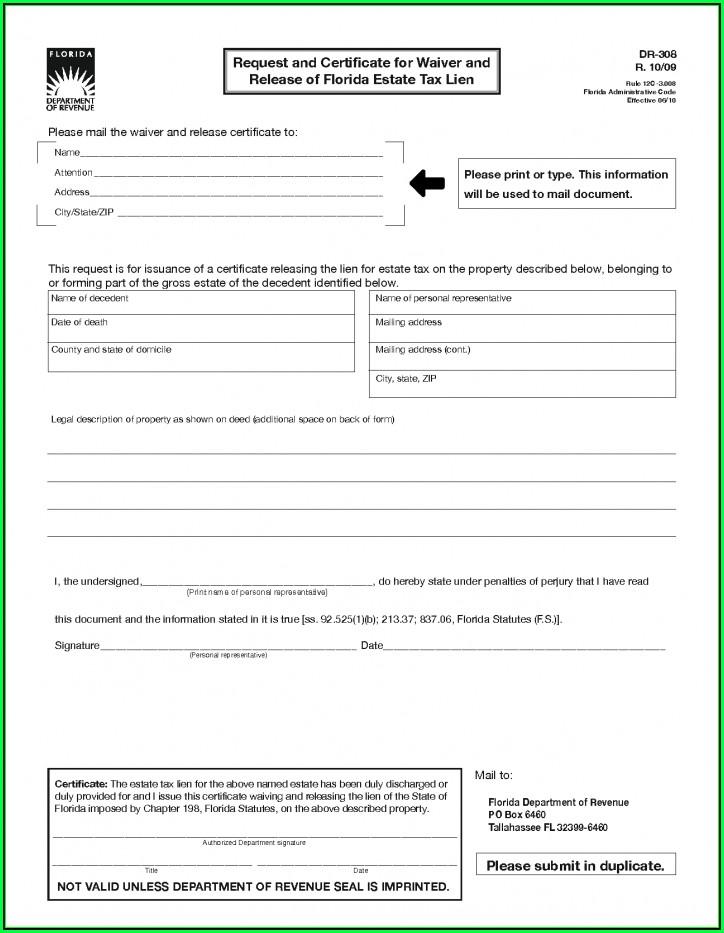 Inheritance Tax Waiver Form Ohio