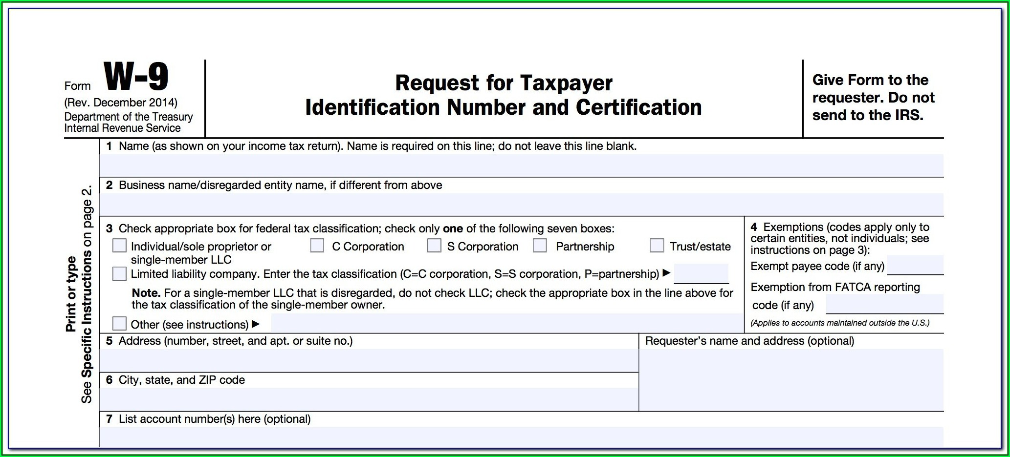 Irs Forms 1099 Misc Instructions