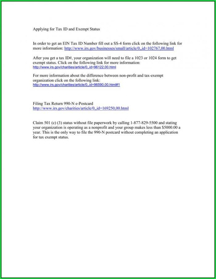 Irs Gov Form 990 N E Postcard