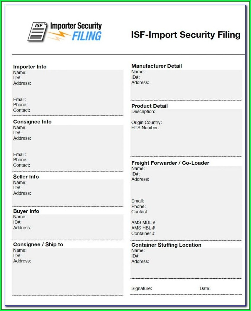 Isf File Format Open