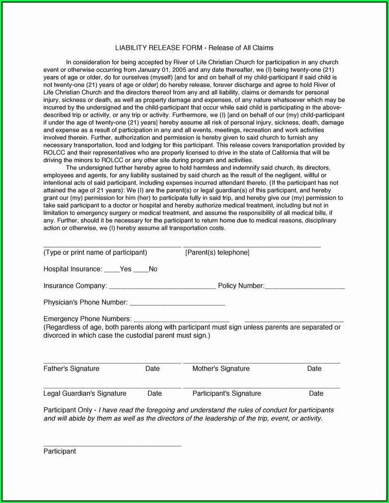 Laser Hair Removal Consent Form Pdf
