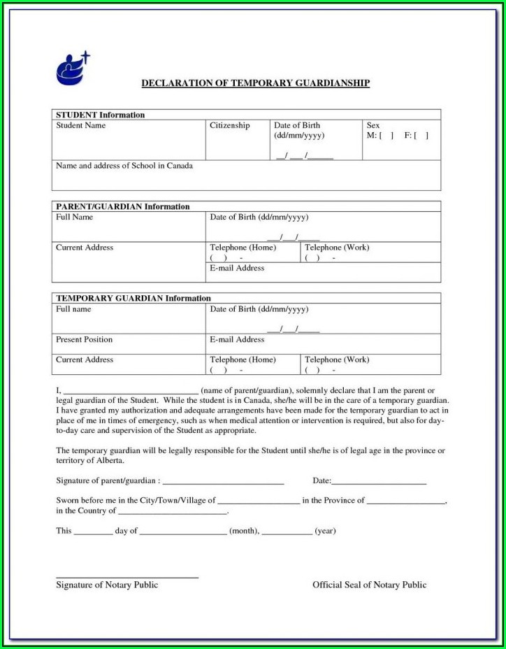Legal Guardianship Forms Mn
