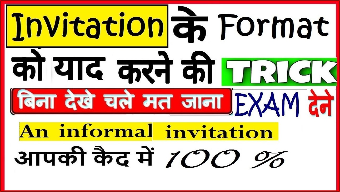 Marriage Invitation Template In English