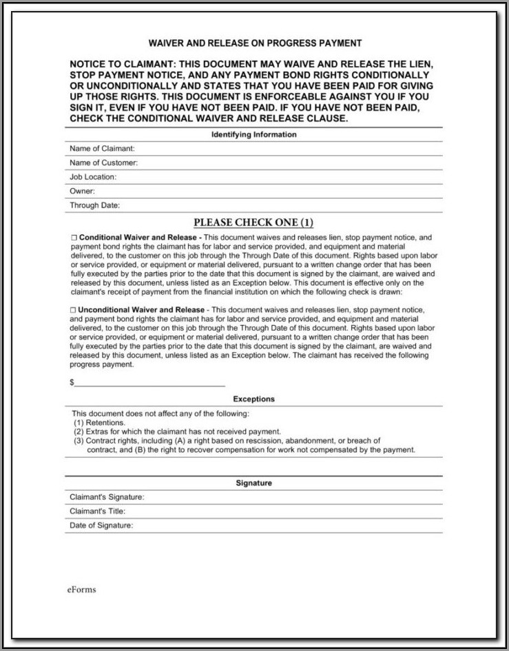 Massachusetts Mechanic's Lien Form