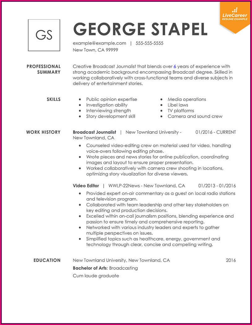 Most Current Resume Templates