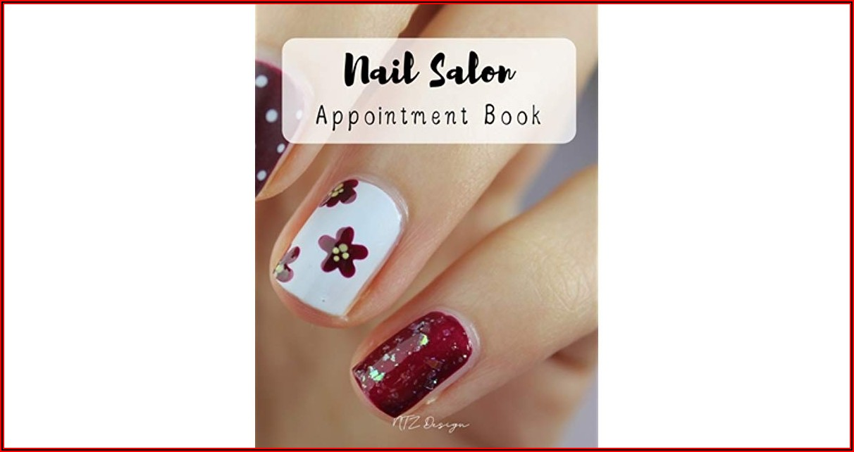 Nail Salon Appointment Book Template