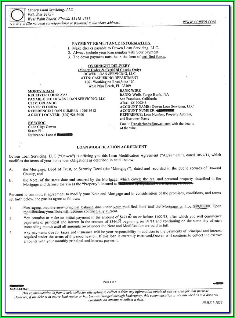 Nationstar Mortgage Loan Modification Package Pdf