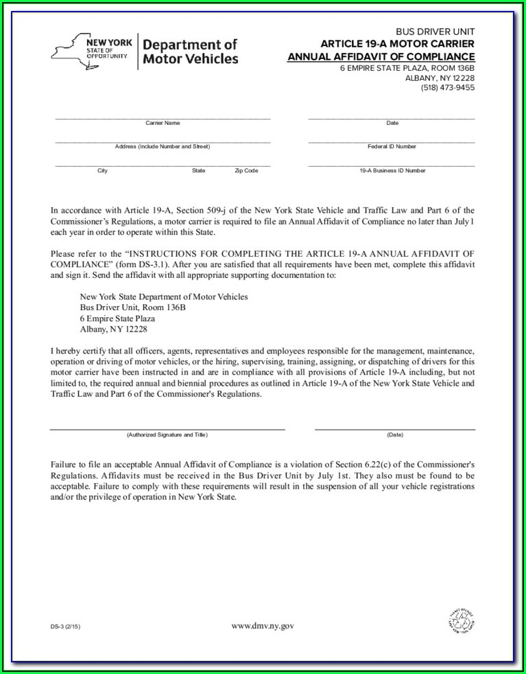 Ny Small Estate Affidavit Form